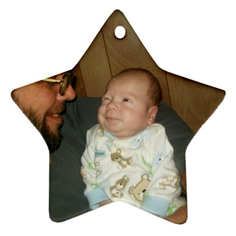 Star Ornament By Tonya Smith   Ornament (star)   Fcmsdqrqkria   Www Artscow Com Front