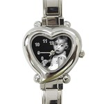 alexiswatch - Heart Italian Charm Watch