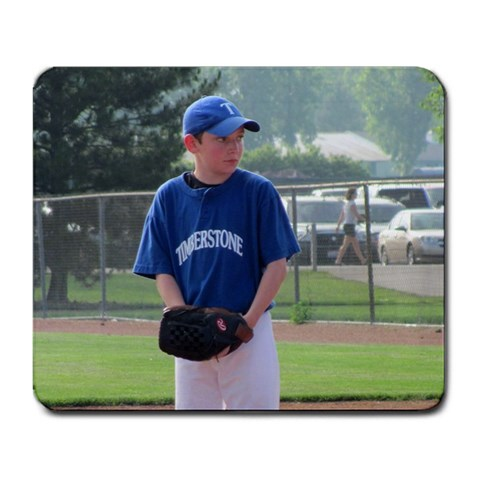 My Favorite Pitcher! By Carrie Muir Howard   Large Mousepad   Kb3t2trbru10   Www Artscow Com Front