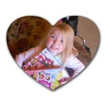 Chasity Marie - Heart Mousepad