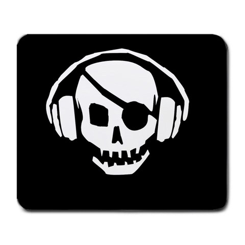 Skull  By Howard Logan   Large Mousepad   Pmpj9kjv92r6   Www Artscow Com Front