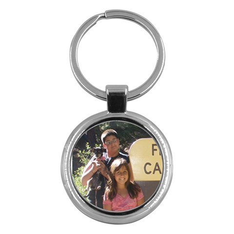 Kid Key Chain By Terra Cruz   Key Chain (round)   Xjnrxi1loxp8   Www Artscow Com Front