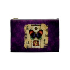 Butterfly Design Bag By Thia Beniash   Cosmetic Bag (medium)   D7emt7ow6ido   Www Artscow Com Front