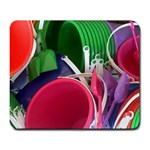 Colorful Pails - Large Mousepad