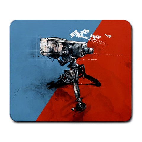 Hey Look I Can Copy Off Of Someone Else By Kyle Hendricks   Large Mousepad   Ud174mz8dfng   Www Artscow Com Front