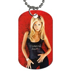 Shelby s Buffy Tag By Tracy   Dog Tag (two Sides)   87ui6c88u86b   Www Artscow Com Front