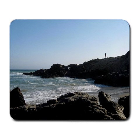 Ocean Alone By William Piper   Large Mousepad   Zb55kktzdp5s   Www Artscow Com Front