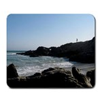 Ocean Alone - Large Mousepad