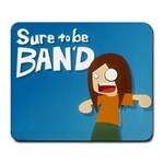 Sure to be Ban d Mousepad - Large Mousepad