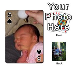 Cards 1 By Deja Rasmussen   Playing Cards 54 Designs   D8u74f7p0vvo   Www Artscow Com Front - Spade5