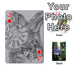 Jack Cards 1 By Deja Rasmussen   Playing Cards 54 Designs   D8u74f7p0vvo   Www Artscow Com Front - DiamondJ