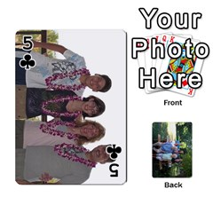 Cards 1 By Deja Rasmussen   Playing Cards 54 Designs   D8u74f7p0vvo   Www Artscow Com Front - Club5