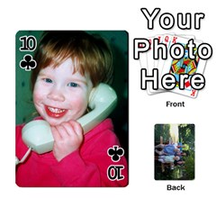 Cards 1 By Deja Rasmussen   Playing Cards 54 Designs   D8u74f7p0vvo   Www Artscow Com Front - Club10