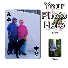 Ace Cards 1 By Deja Rasmussen   Playing Cards 54 Designs   D8u74f7p0vvo   Www Artscow Com Front - ClubA
