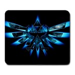 Blue Triforce - Large Mousepad