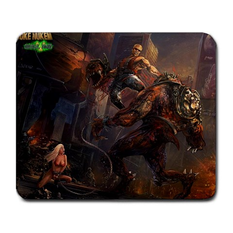 Duke Nukem By Tom Mickleborough   Large Mousepad   Edtbp2mr4tc7   Www Artscow Com Front