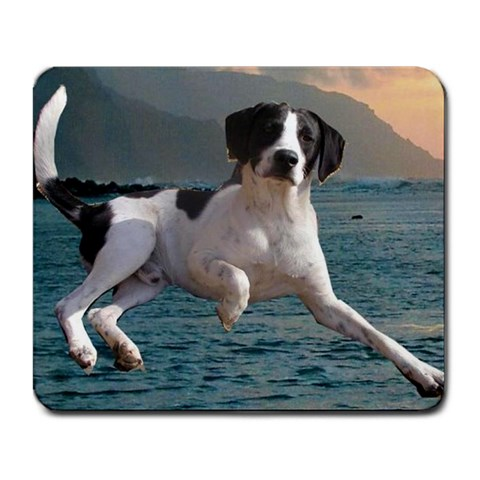 Elvis On Water By Andrea Tucker   Large Mousepad   Pvd8a1kmxkuu   Www Artscow Com Front