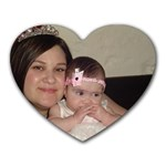 MY PRINCESSES - Heart Mousepad