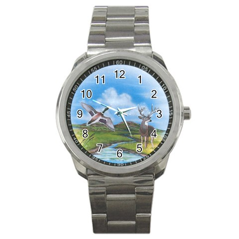 Nature   Sports Watch By M Chyan   Sport Metal Watch   Szl8qd42w1mw   Www Artscow Com Front