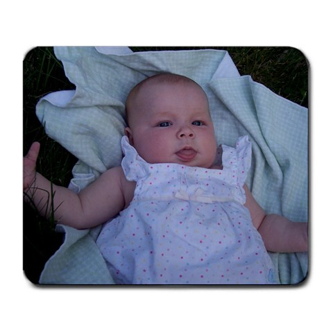 Baby Sienna! By Natasha Hughes   Large Mousepad   Euarbuzgv2p3   Www Artscow Com Front