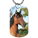 2Megan-Horse-Fluerdelis - Dog Tag (Two Sides)