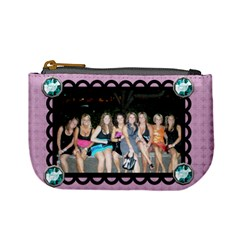 Girls Night Coin Purse By Nicole Mccracken   Mini Coin Purse   W7hkqholcph8   Www Artscow Com Front