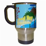 summer mug - Travel Mug (White)
