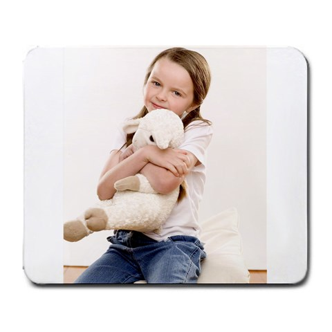 Sheep By Sharlene Phillips   Large Mousepad   Edj8loo4pxvx   Www Artscow Com Front