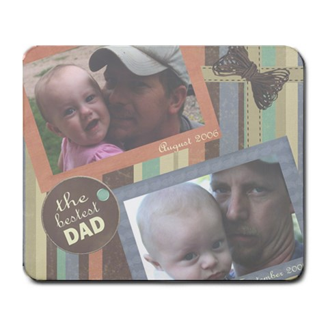 Tracy And The Kids By Beth Barrett   Collage Mousepad   Bn70l0luw5zo   Www Artscow Com 9.25 x7.75 Mousepad - 1