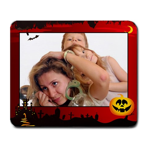 Helloween By Wood Johnson   Large Mousepad   Wsjvve9nmaxv   Www Artscow Com Front