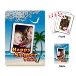 summer - Playing Cards Single Design