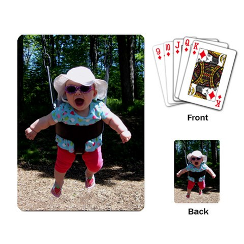 Deck Of Cards! By Dale Riley   Playing Cards Single Design   X3vi48q9dhen   Www Artscow Com Back