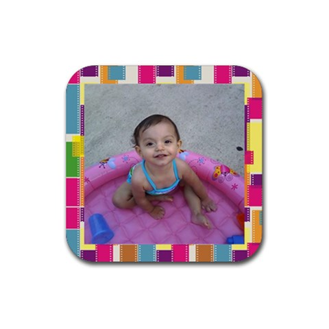 So By Amy Romero   Rubber Coaster (square)   Ljxksmkyg4cp   Www Artscow Com Front