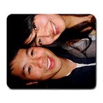 pat and viv 2 - Large Mousepad