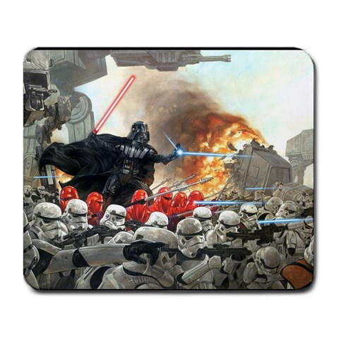 Star Wars Mouse Pad  By Mud Kipz   Large Mousepad   3ijcegiburw8   Www Artscow Com Front