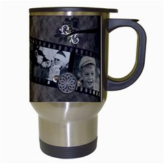 Carter Mug By Cjk   Travel Mug (white)   Podloyncqc5x   Www Artscow Com Right