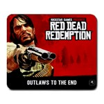 Red Dead - Collage Mousepad