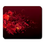 red mousepad design - Large Mousepad