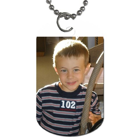 Ethan Tag By Pat   Dog Tag (one Side)   C87nvpgl29s1   Www Artscow Com Front