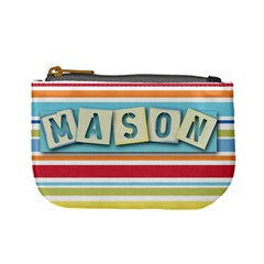 Mason s Coin Bag By Shawna   Mini Coin Purse   Dhd0494xorz3   Www Artscow Com Front