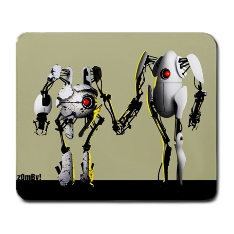My Personal Portal 2 Design By Pato Infante   Large Mousepad   K89f2j4iuur1   Www Artscow Com Front