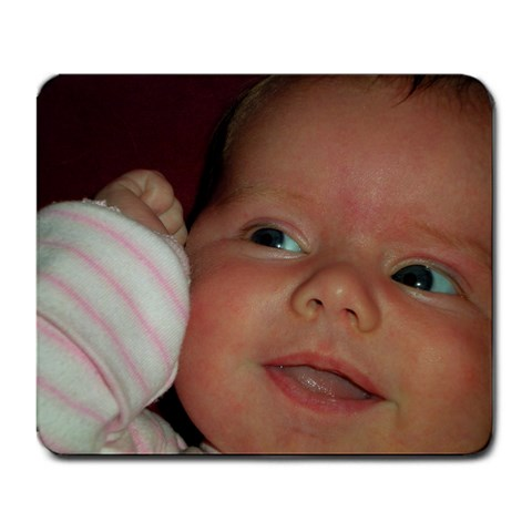 Our Baby By Amber Harrer   Large Mousepad   Ei3zjvm7qipy   Www Artscow Com Front