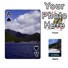Ace Caribbean Playing Cards By Asha Vigilante   Playing Cards 54 Designs   N8mh1ktokbii   Www Artscow Com Front - SpadeA