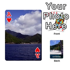 Ace Caribbean Playing Cards By Asha Vigilante   Playing Cards 54 Designs   N8mh1ktokbii   Www Artscow Com Front - HeartA