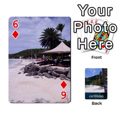 Caribbean Playing Cards By Asha Vigilante   Playing Cards 54 Designs   N8mh1ktokbii   Www Artscow Com Front - Diamond6