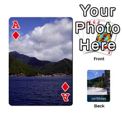 Ace Caribbean Playing Cards By Asha Vigilante   Playing Cards 54 Designs   N8mh1ktokbii   Www Artscow Com Front - DiamondA