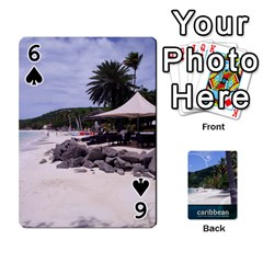 Caribbean Playing Cards By Asha Vigilante   Playing Cards 54 Designs   N8mh1ktokbii   Www Artscow Com Front - Spade6