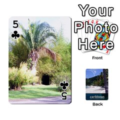 Caribbean Playing Cards By Asha Vigilante   Playing Cards 54 Designs   N8mh1ktokbii   Www Artscow Com Front - Club5