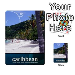 Caribbean Playing Cards By Asha Vigilante   Playing Cards 54 Designs   N8mh1ktokbii   Www Artscow Com Back