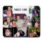 FAMILY LOVE - Collage Mousepad